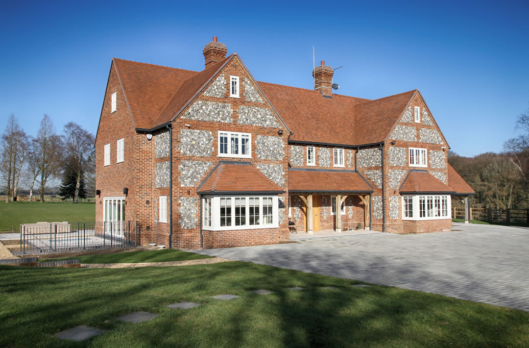 New build property development in Buckinghamshire