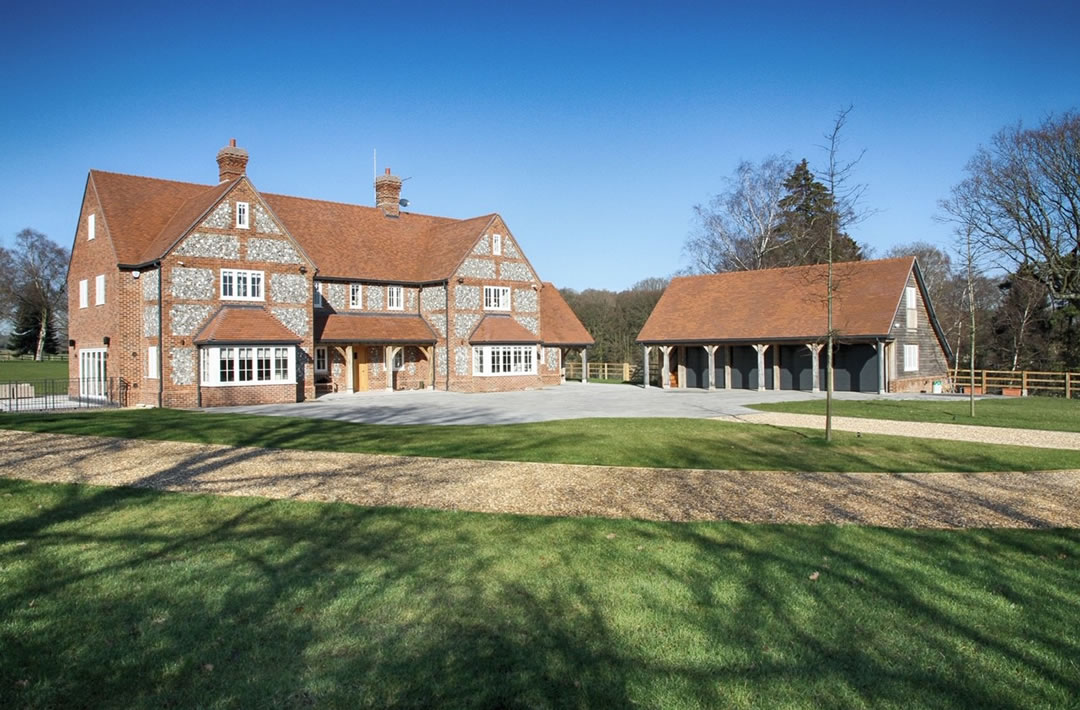 Luxury house builder in the Chilterns